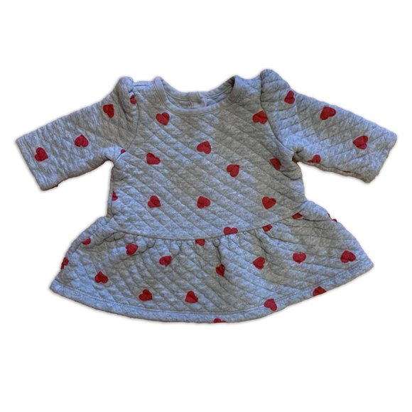Baby Gap Quilted Heart Dress